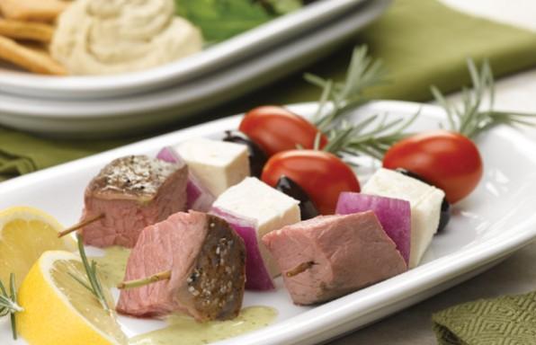 American Lamb Kebab Salad