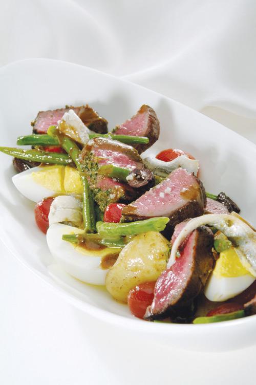 American Lamb Loin Nicoise Salad