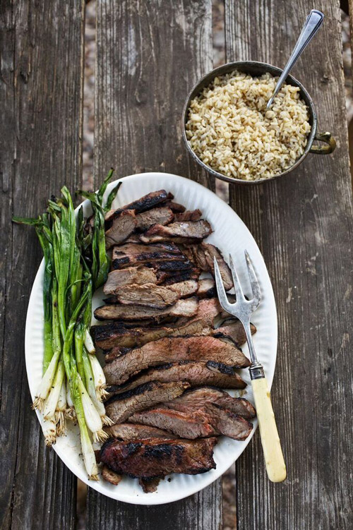 Grilled Butterflied American Leg of Lamb - Superior Farms