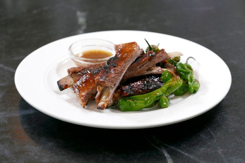 Jalapeno Glazed Lamb Ribs