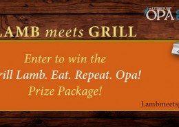 Lamb meets Grill Prize Package