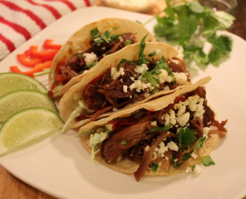 Pulled Lamb Tacos