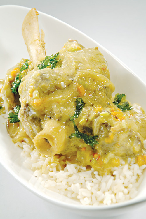 Braised Thai Green Goat Curry Recipes — Dishmaps