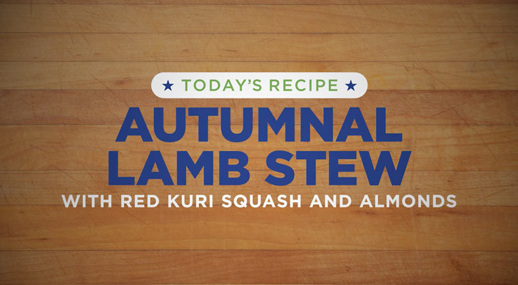 Tucker recipe - Autumnal Lamb Stew