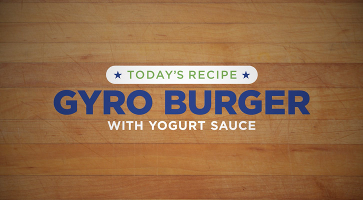 Tucker recipe - Gyro Burger