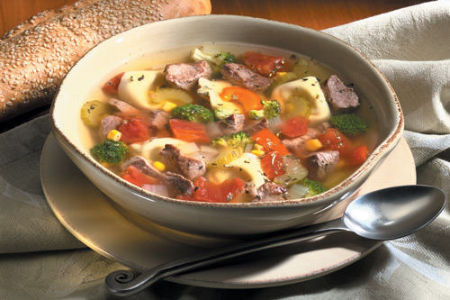 Tortellini Lamb Country Soup