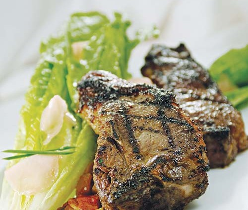 Grilled Ginger Lamb Chops - Superior Farms American Lamb